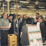 1996 Besichtigung des Briefzentrums 68
